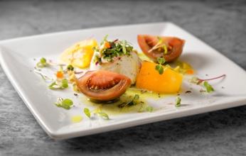 2ND COURSE - Burrata Cheese & Heirloom Tomato Salad 2